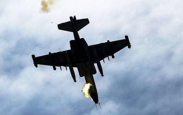 """Düşmənin """"F-16""""larla bağlı yalanı ifşa edildi - """"İki """"Su-25"""" havaya qalxıb, biri digərinə zərbə endirib"""""""