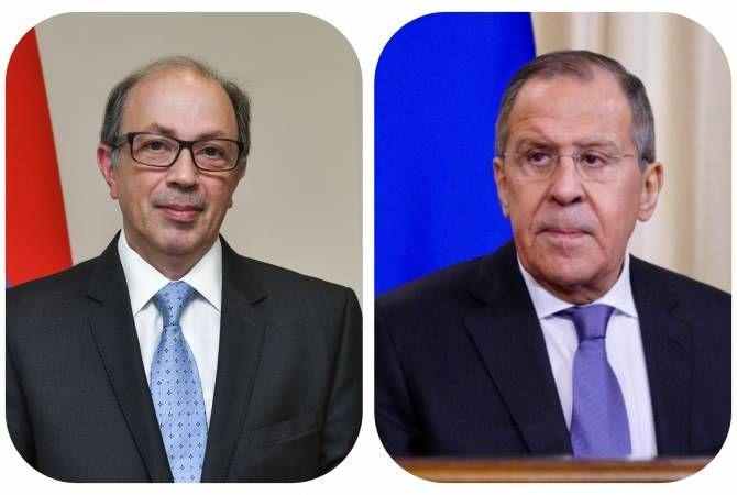 Rusiya və Ermənistan xarici işlər naziri telefon danışığı aparıb
