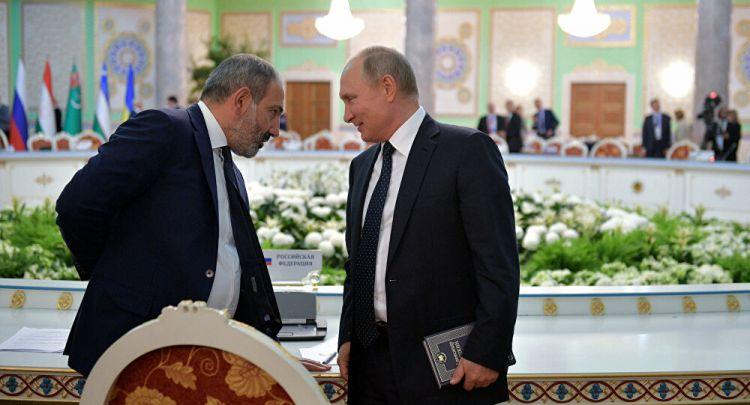Paşinyan hansı məsələyə görə Putinə iki dəfə zəng edib