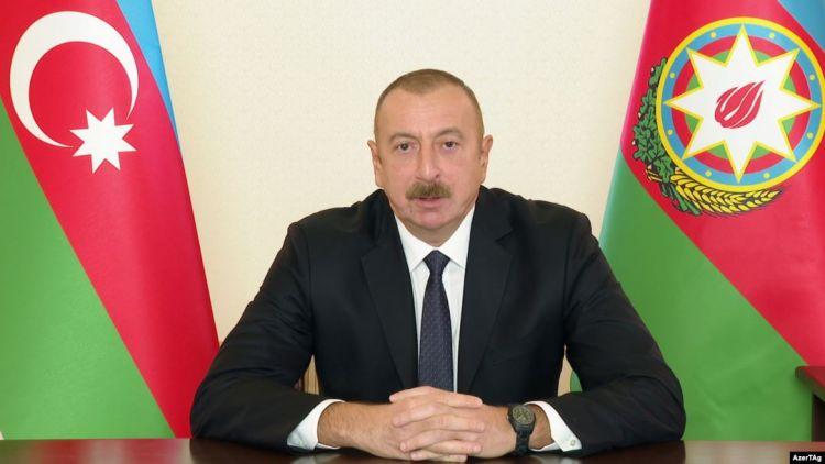 Azərbaycan Prezidenti xalqa müraciət edib - Tam mətn
