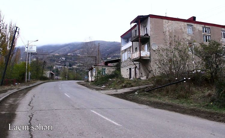 Azerbaijan Defense Ministry has prepared video footage of the city of liberated Lachin district. - VIDEO