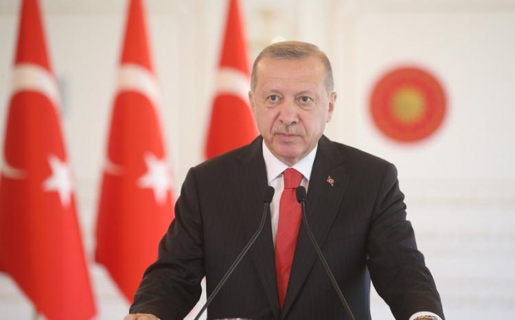 Эрдоган примет участие в параде Победы в Баку