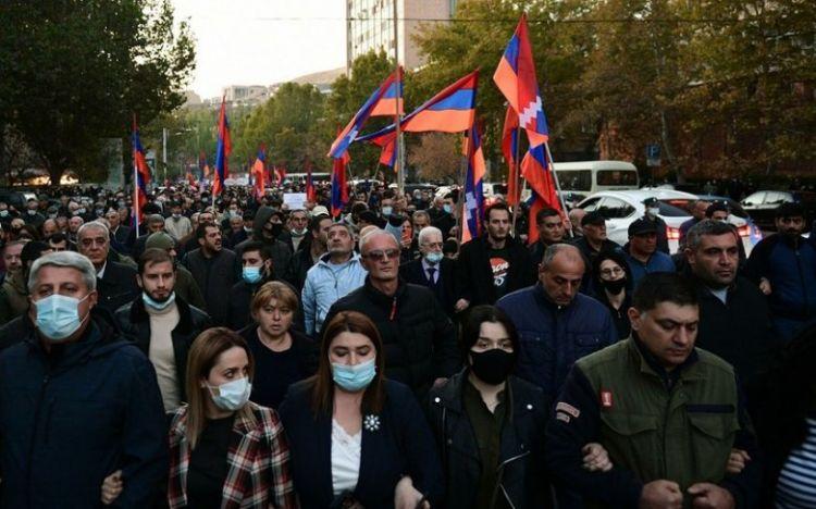 Ermənistanda ümummilli tətil və itaətsizlik aksiyaları başlayıb | Eurasia  Diary