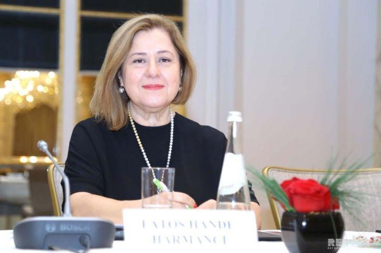 Эксклюзивное интервью с Главой  Всемирной Организации Здравоохранения в Азербайджане  Доктором Ханде Харманджи - ВИДЕО