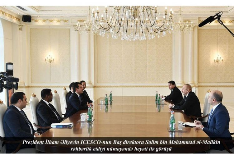 Президент Ильхам Алиев: Мы хотим вновь вернуться к обсуждениям по региональному центру ИСЕСКО в Азербайджане