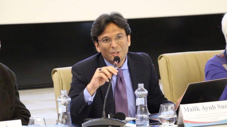 Эксклюзивное интервью с Маликом Аюб Самбалом - Специально для Eurasia Diary - ВИДЕО