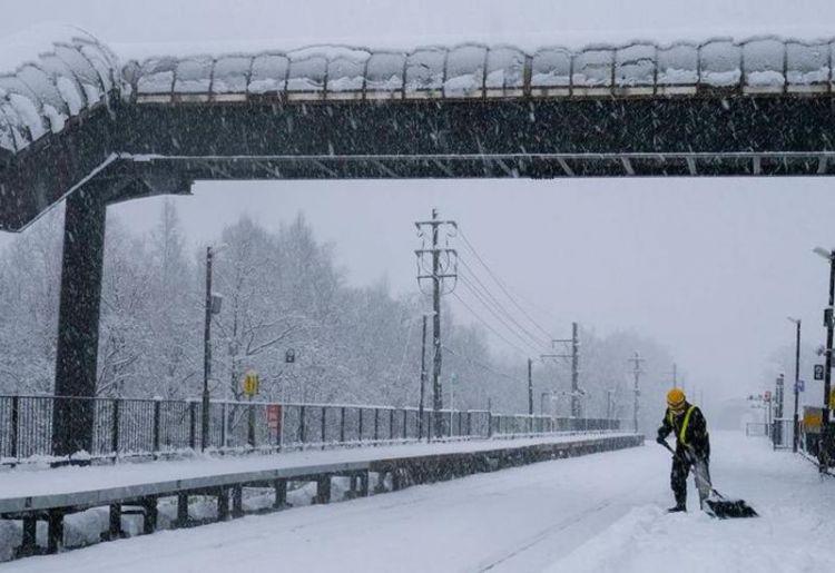 В Японии при уборке снега погибли более 60 человек