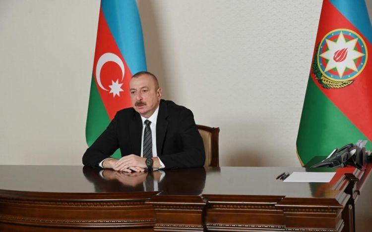 Президент Ильхам Алиев принял в видеоформате генерального секретаря Совета сотрудничества тюркоязычных государств - ФОТО