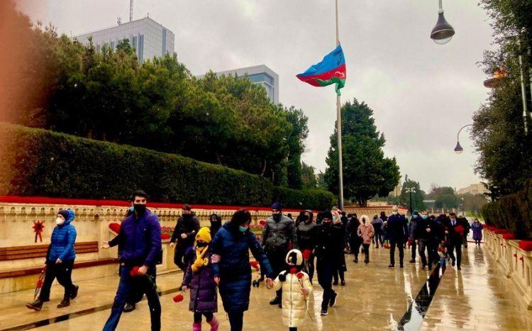 Я пришел почтить память тех, кто погиб за свободу Азербайджана - посол Израиля - ВИДЕО