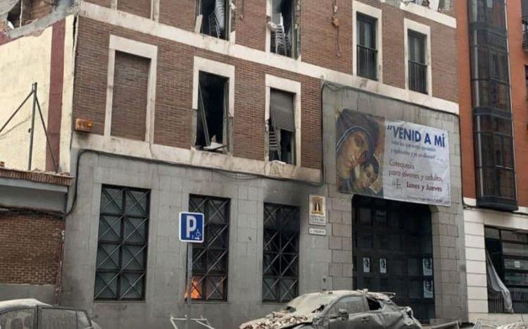 В центре Мадрида произошел взрыв - ВИДЕО