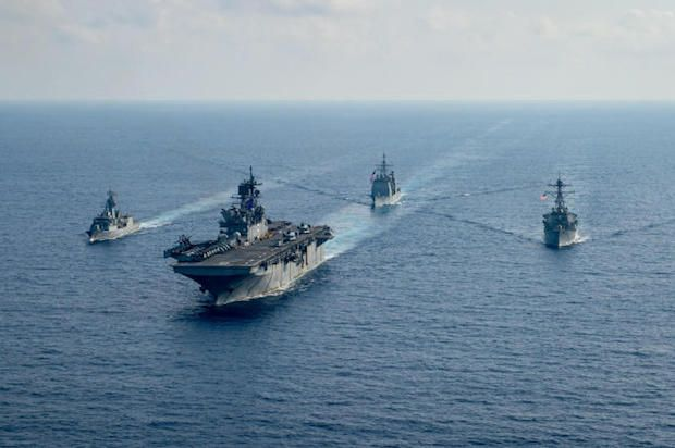 US aircraft carrier enters China Sea amid Taiwan tensions