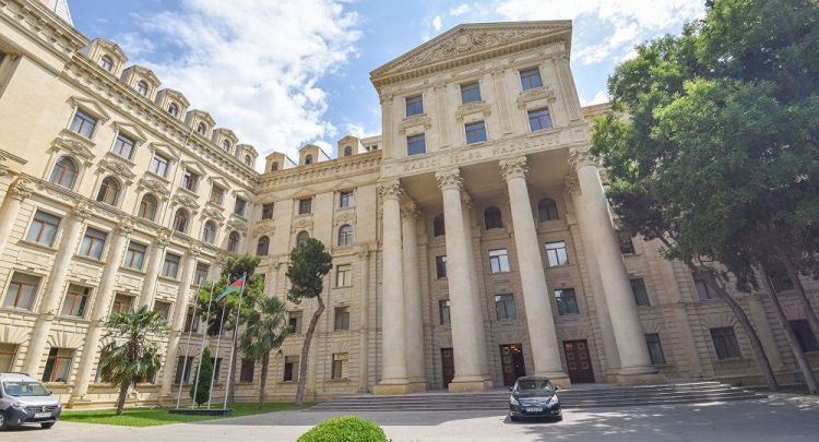 Azerbaijani President sent issue of Nagorno-Karabakh status to 'dustbin of history' - Foreign Ministry Spokeswoman