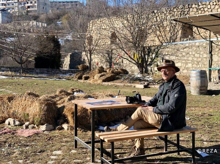 """""""Я азербайджанец, который делится своей Карабахской болью """" - Реза Дегати - ВИДЕО - ФОТО"""