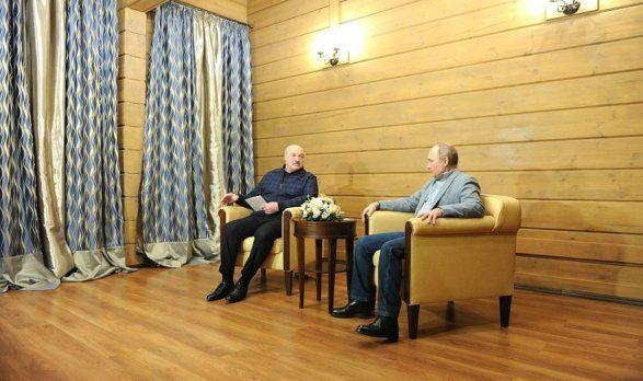 Переговоры Путина и Лукашенко продолжались свыше шести часов