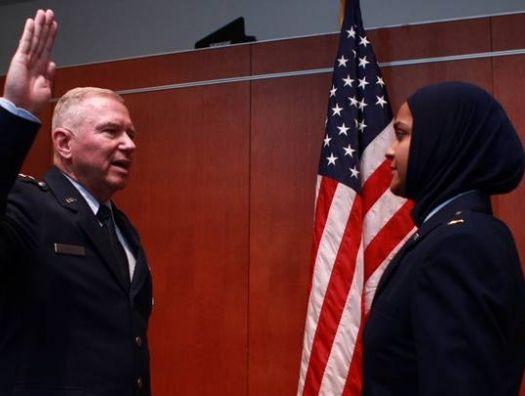 Мусульманка впервые стала капелланом в армии США