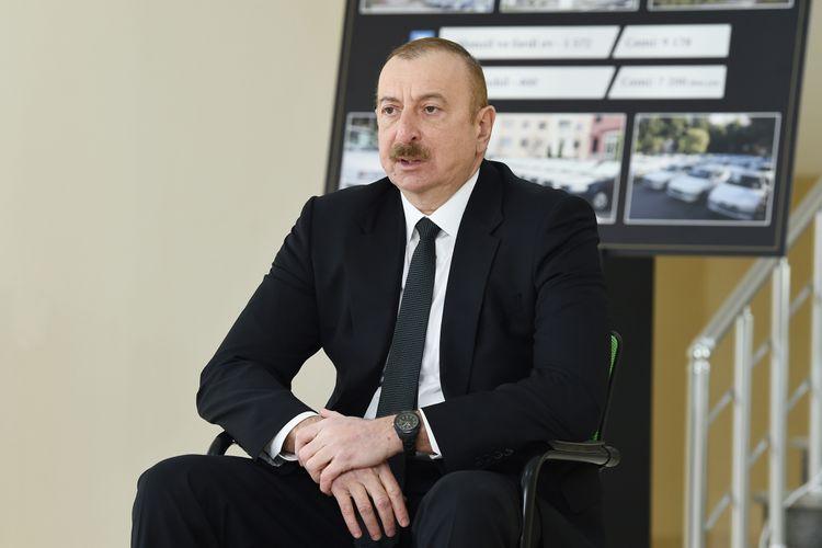 """""""Dünyada hansı müasir silah varsa, onlar Azərbaycana gətiriləcək"""" - İlham Əliyev"""