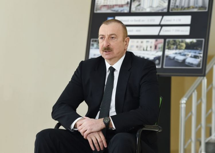 """President Ilham Aliyev - """"This bloody crime should never be repeated"""""""
