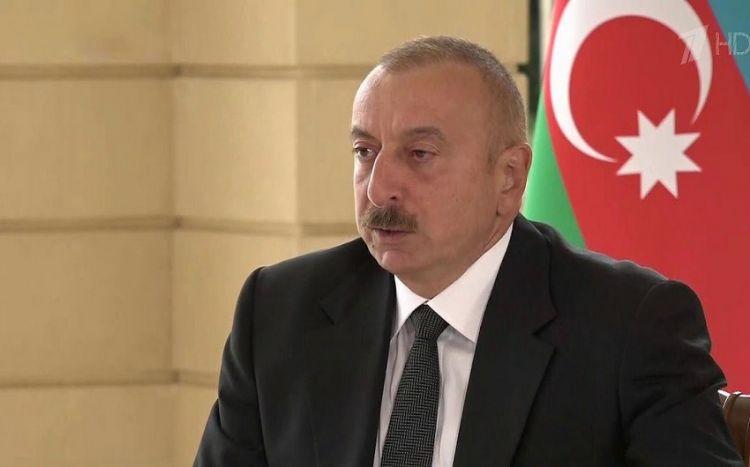 Ильхам Алиев рассказал украинскому журналисту детали спецоперации по освобождению оккупированных территорий - ВИДЕО