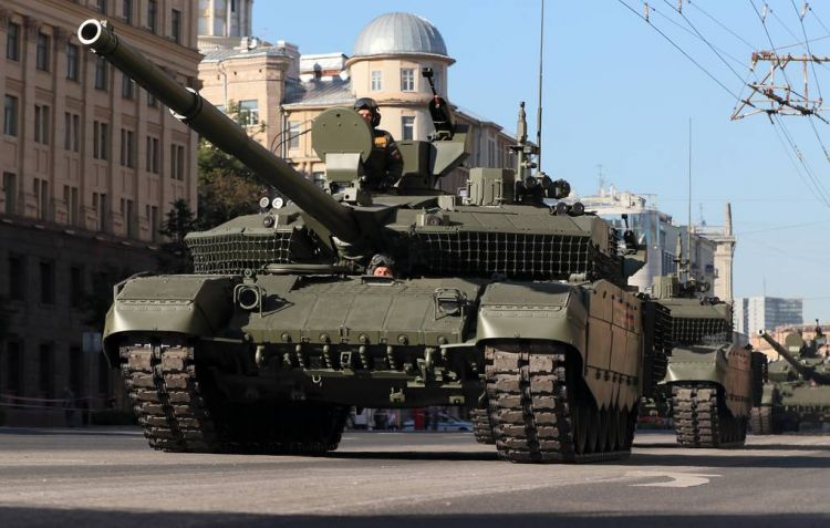 Russian Defense Minister introduced a batch of upgraded T-90M main battle tanks