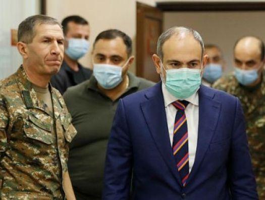 Пашинян приказал арестовать главу Генштаба