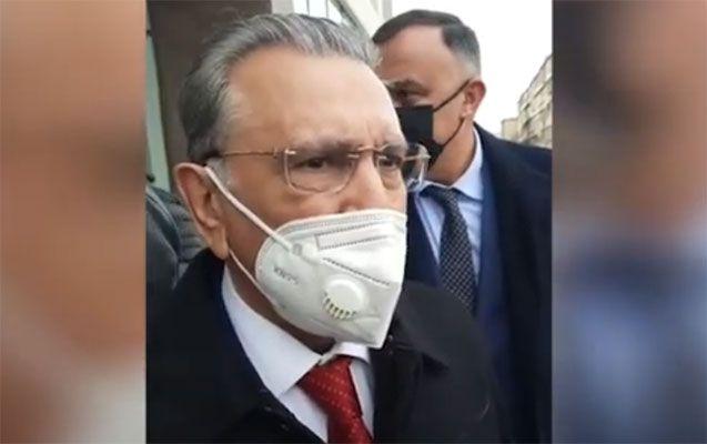 Ramiz Mehdiyev danışdı - VİDEO