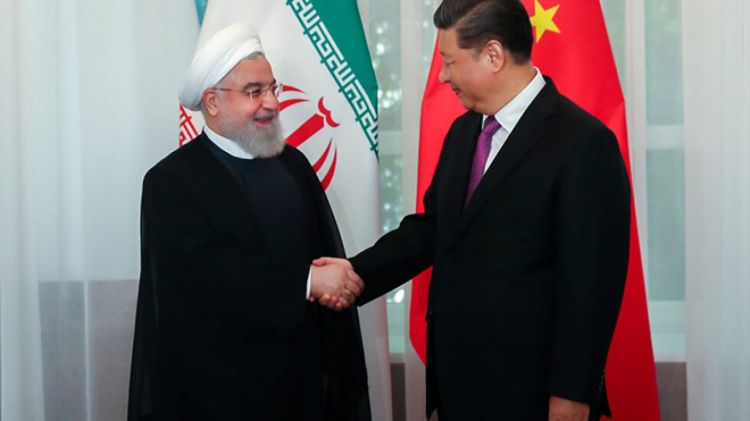 Iran is a country contributing to China's strategic goals in Middle East
