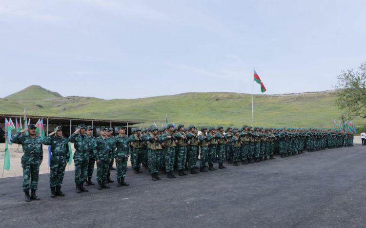 Азербайджан создал еще одну воинскую часть на границе с Арменией