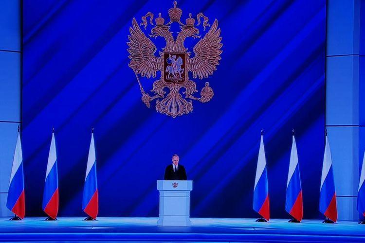 Diqqətlər Moskvaya yönəldi - Putinin gözlənilən müraciəti başladı - CANLI