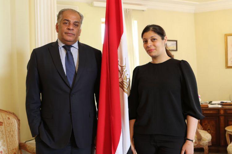 """""""Я хочу от души пожелать всему азербайджанскому народу всегда оставаться такими же мужественными и храбрыми - Идти только вперед"""" - Адель Ибрагим - ВИДЕО"""