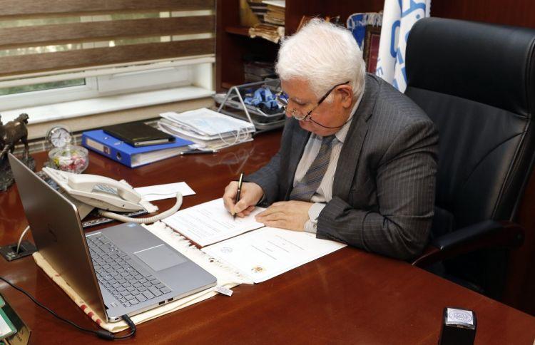 BAMF Brüssel Ədliyyə Akademiyası ilə əməkdaşlıq memorandumu imzaladı - FOTOLAR