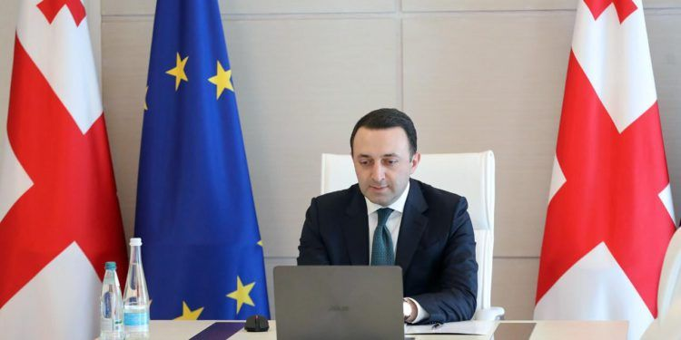 Georgian and Ukraine PMs Discuss Importance of European and Euro-Atlantic Integration of Georgia and Ukraine