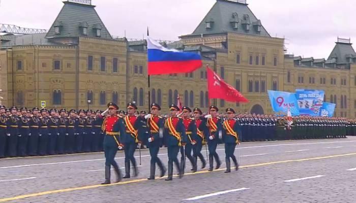 Moskvada hərbi parad keçirilir - FOTO - VİDEO