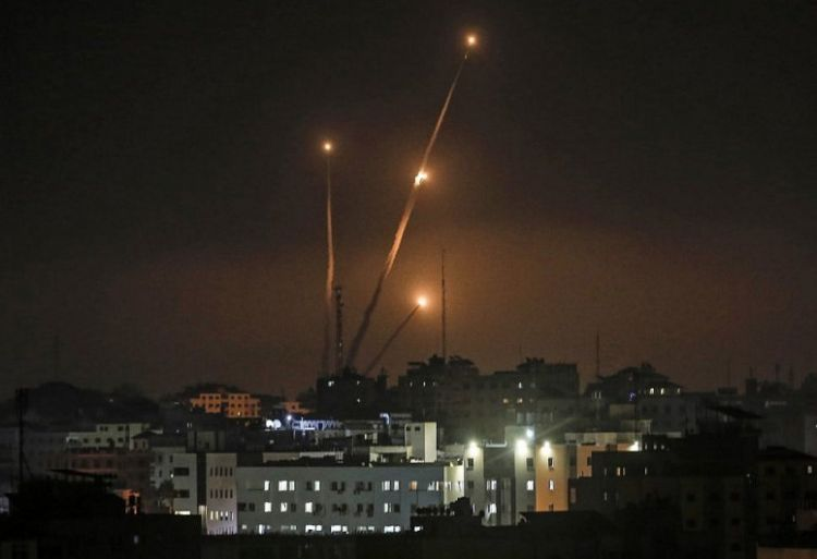 Gazan militants fire over 150 rocket and mortar rounds toward Israel's Southern District and Jerusalem - Israel