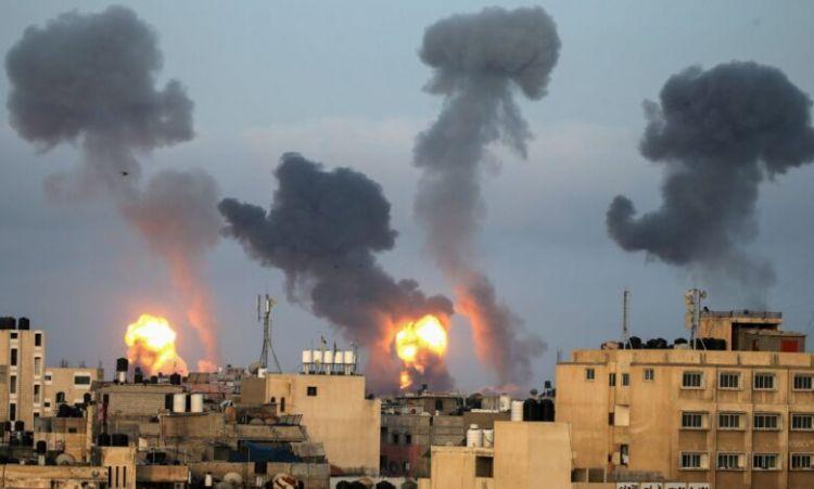 Qarşılıqlı raket zərbələri nəticəsində ölən fələstinli və israillilərin sayı açıqlanıb