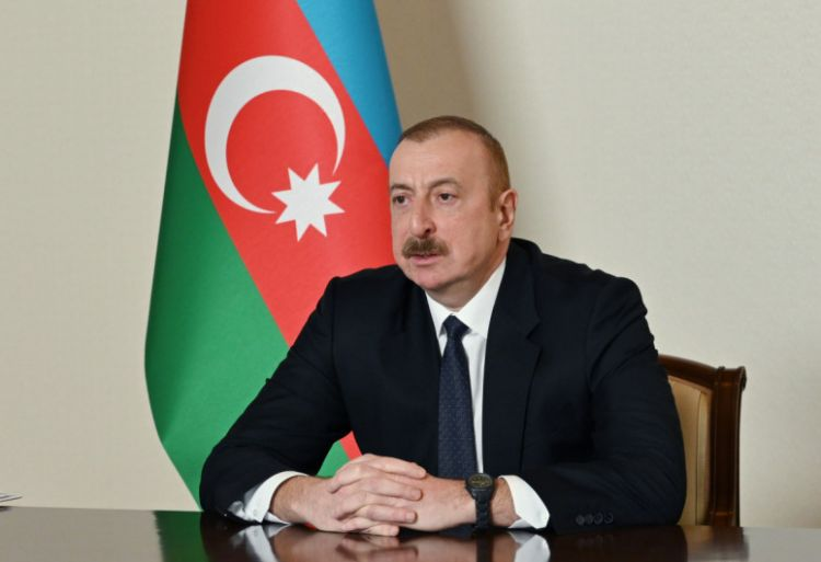 Armenian side demonstrates inadequate reaction to process of demarcation of border - Azerbaijan President
