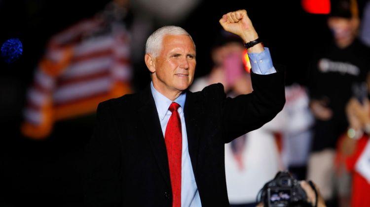 Майк Пенс призвал сограждан объединиться против «радикальной повестки» Байдена - ВИДЕО