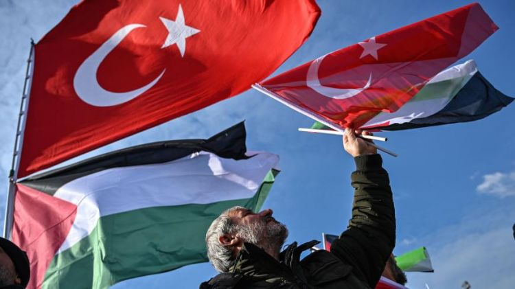 Turkey's proposal of coalition aims for unity and determination for Palestine