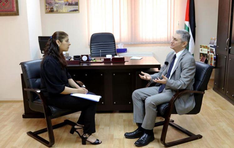 Интервью с послом Палестины в Азербайджане - Эксклюзив - ВИДЕО