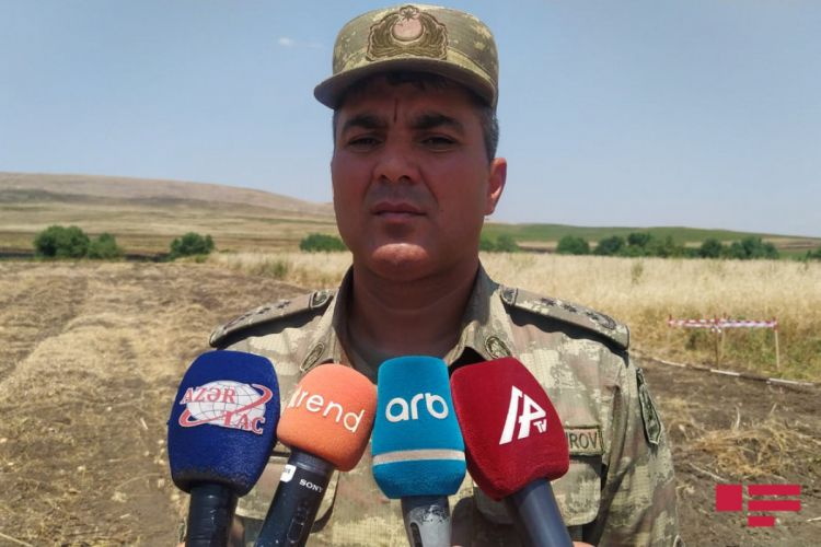 We are carrying out the task of demining in liberated territories together with the sappers from brother Turkey - Colonel