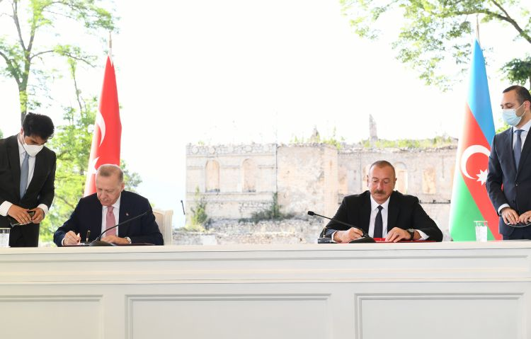 Shusha Declaration on Allied Relations between the Republic of Azerbaijan and the Republic of Turkey - Full Text