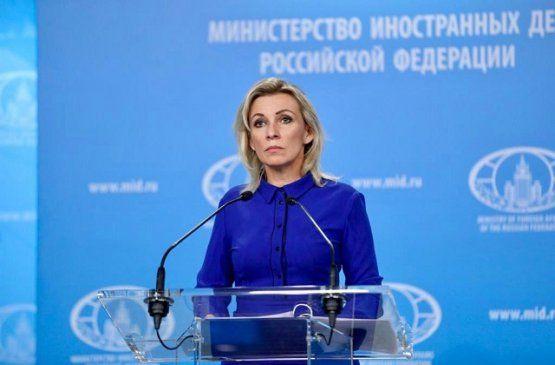 Захарова: Россия продолжает оказывать усилия для деэскалации ситуации на границе Азербайджана с Арменией