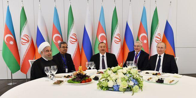 Geopolitical Trio Azerbaijan-Iran-Russia