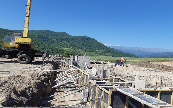 Xocalının kəndində ermənilər üçün 211 yeni evin tikintisi davam edir... - FOTO
