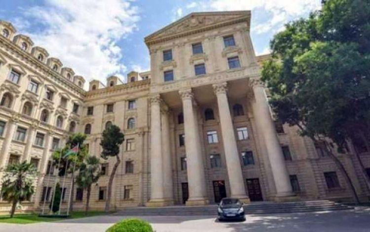 الخارجية: يجب ألا يغيب عن بال أرمينيا انها انتهكت وما زالت حقوق حوالي مليون أذربيجان قبل التحدث عن مخالفات القانون الدولي