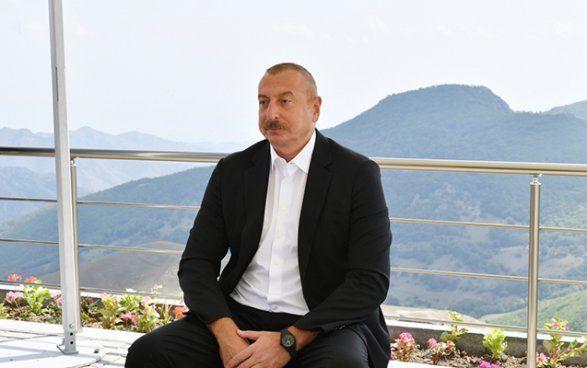 Ильхам Алиев: «Это наши территории. Зангезур – земля наших предков, и мы находимся на своей территории»