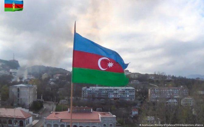 Stepanakertdən çıxanda dəli olursan - Hər yerdə Azərbaycan bayrağı var... - Akopyan