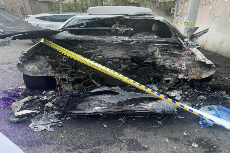 В Армении подорвали автомобиль супруга лидера оппозиции