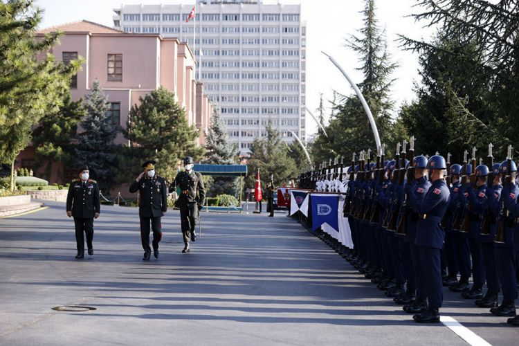 Turkish Armed Forces release information on official visit of Chief of the General Staff of the Azerbaijan to Turkey