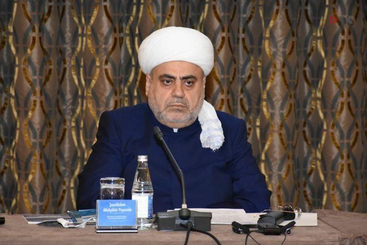 Аллахшукюр Пашазаде ответил имаму Ардебильской мечети Амули