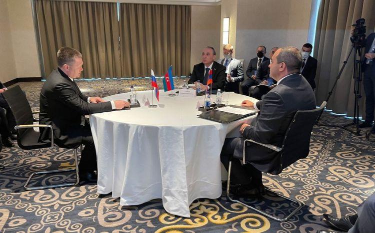 Состоялась трехсторонняя встреча генпрокуроров Азербайджана, России и Армении